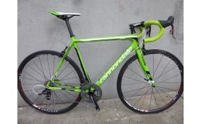 Cannondale Supersix Evo országúti kerékpár használt Sram Red VIson karbon kerekek 54-es méret