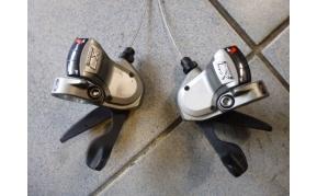 Shimano Deore LX váltókar párban használt