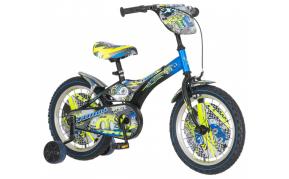 KPC Turbo versenyautós gyermek kerékpár 16-os