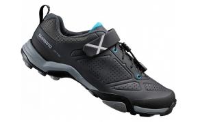 Shimano SH-MT5 MTB cipő fekete