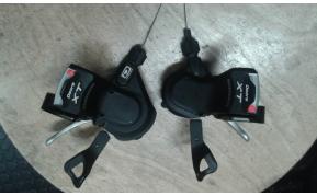 Shimano Deore XT váltókar használt párban