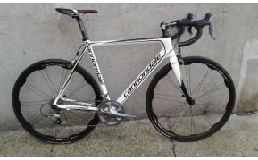 Cannondale Supersix full carbon országúti kerékpár használt 56-55cm