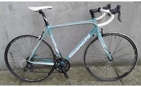 Bianchi Impulso celeste országúti kerékpár használt 57cm