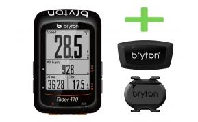 BRYTON RIDER 410T GPS komputer szett (HRM+CAD)