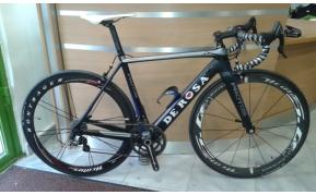 DE ROSA PROTOS full carbon országúti kerékpár használt 52-53cm