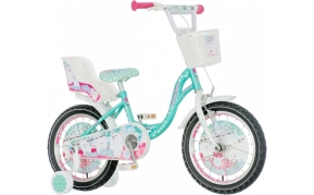 KPC Snow Kitty gyermek kerékpár 16-os