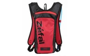Zefal Z-HYDRO S 1,5l hátizsák 1l ivózsákkal fekete-piros