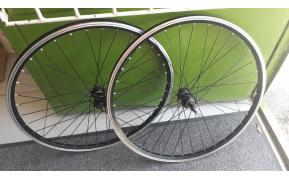 Mountainbike kerék szett duplafalu felnivel