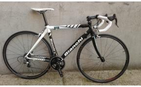 Bianchi 928 carbon országúti kerékpár használt 52-53cm
