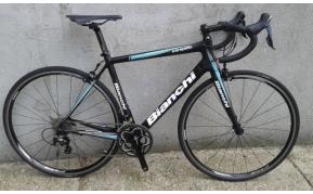 Bianchi Intrepida carbon országúti kerékpár használt 54cm