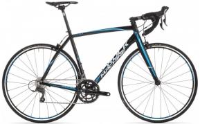 Rock Machine RaceRide 200 országúti kerékpár fekete-kék-fehér 51cm végső ár!