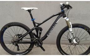 CANYON NERVE AL7.0 650BMTB kerékpár használt M-es