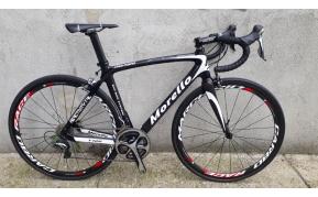 MORELLO F122 carbon PRO SERIES országúti kerékpár használt 51-54cm