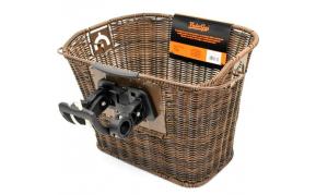 VELOGO első kosár rattan adapterrel