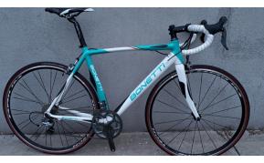 Bonetti carbon országúti kerékpár használt 54-56cm