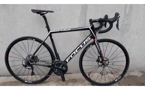 FOCUS CAYO carbon országúti kerékpár használt L-es