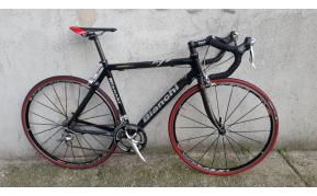 Bianchi carbon országúti kerékpár használt 52-54cm