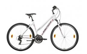 Gepida Alboin 200 PRO CRS női cross treking kerékpár 2019 fehér 48cm