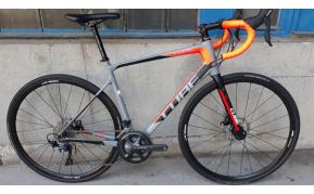 Cube Attain Pro carbon disc országúti kerékpár használt 56cm