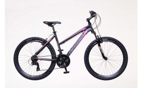 Neuzer Mistral 50 női MTB kerékpár fekete/pink-szürke