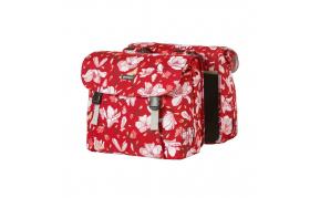 Basil Magnolia double bag csomagtartó táska