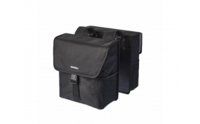 Basil Go double bag csomagtartó táska 2részes