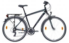 Gepida Alboin 200 férfi trekking kerékpár 48cm fekete