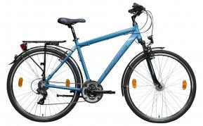 Gepida Alboin 200 férfi trekking kerékpár 52cm acélkék