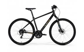 M-BIKE 15D cross trekking férfi kerékpár fekete arany