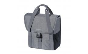 BASIL Go Single Bag csomagtartó táska egy oldalas szürke