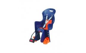 Polisport Boodie gyermekülés vázra szerelhető adapteres kék-narancs