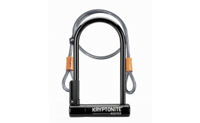 Kryptonite Keeper STD U-lakat+hurokkábel
