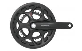 Shimano Tourney FC-A070 országúti hajtómű láncvédős