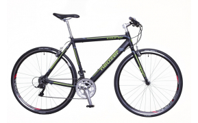 Neuzer Courier DT speeder kerékpár fekete/zöld- szürke 56cm