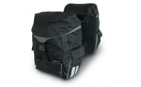 Basil Sports Double 2 részes túratáska 35l csomagtartóra fekete