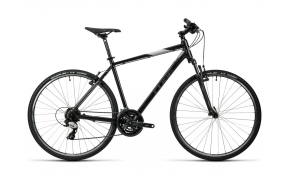 CUBE CURVE CROSS TREKKING KERÉKPÁR 2016 BLACK GREY WHITE 58CM