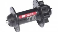 DT SWISS 370 tárcsafékes első agy 36lyuk fekete