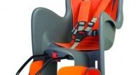 Polisport BILBY gyermekülés vázra szerelhető adapteres szürke-narancs