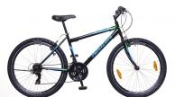 Neuzer Nelson 30 férfi MTB kerékpár fekete/türkiz-neon zöld