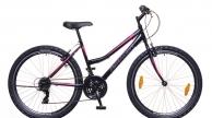 Neuzer Nelson 30 női MTB kerékpár fekete/szürke-pink
