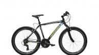 Neuzer Mistral 30 MTB férfi kerékpár fekete/sárga-türkiz