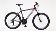 Neuzer Mistral 30 MTB férfi kerékpár fekete/piros-cián