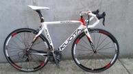 KUOTA KEBEL full carbon országúti kerékpár használt 53-54cm