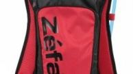 Zefal Z-HYDRO M 2,5l hátizsák 1,5l ivózsákkal fekete-piros