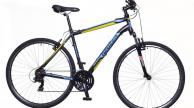 Neuzer X100 férfi cross trekking kerékpár fekete/kék-sárga