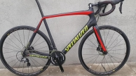 Specialized Tarmac full carbon disc országúti kerékpár használt 55-58cm