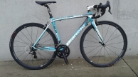 Bianchi Sempre full carbon országúti kerékpár használt 50-52cm