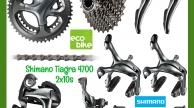 Shimano Tiagra 4700 2x10szett kerék nélkül