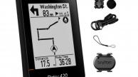 Bryton Rider 420T GPS komputer szett (CAD+HRM)