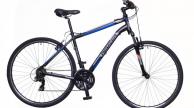 Neuzer X100 férfi cross trekking kerékpár fekete/kék-szürke